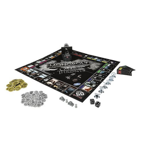 Game of Thrones Edition Monopoly Board Game - Official Hasbro :: Mental XS Online