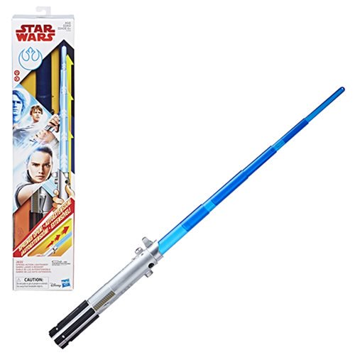 Star Wars Rey Force Action Electronic Lightsaber - Official Unisex :: Mental XS Online