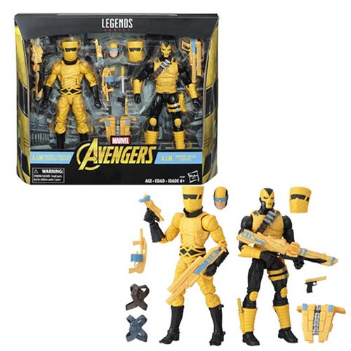 Marvel Legends A.I.M. Scientist & Shock Trooper - Exclusive - Official Hasbro :: Mental XS Online