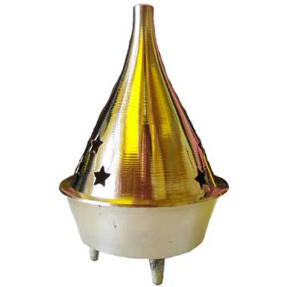 Brass Incense Burner 3