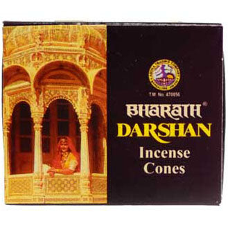 Bharath Darshan Incense Cones - 10 pack