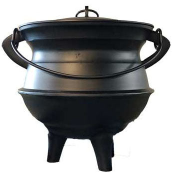 Aluminum Cauldron with lid 24