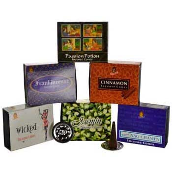 Kamini Aromatics Dragon Incense Cones - 10 pack
