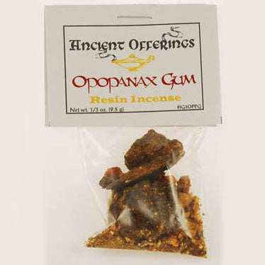 Opopanax Gum (Sweet Myrrh) Resin Incense (1/3oz / 9.5g)