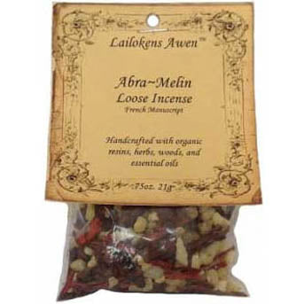 Abra Melin (french) Lailokens Awen Resin Incense .75oz (21g)