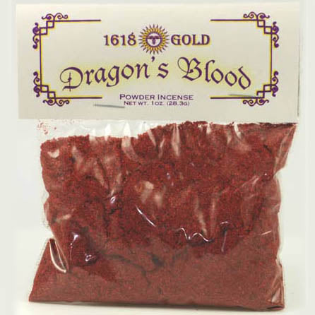 1618 Gold Dragon's Blood Powder Incense
