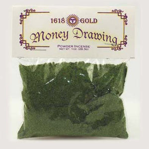1618 Gold Money Drawing Powder Incense