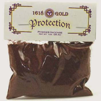 1618 Gold Protection Powder Incense