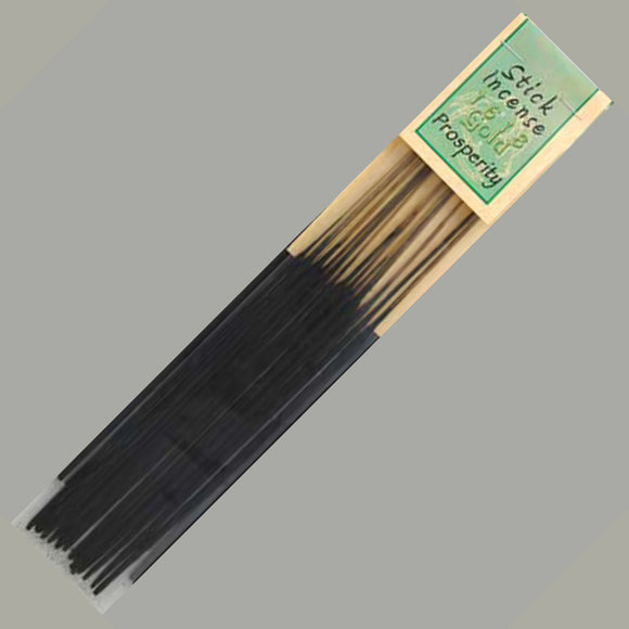 1618 Gold Prosperity Incense Sticks - 13 pack