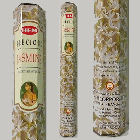 HEM Precious Jasmine Incense Sticks - 20 pack (20g)
