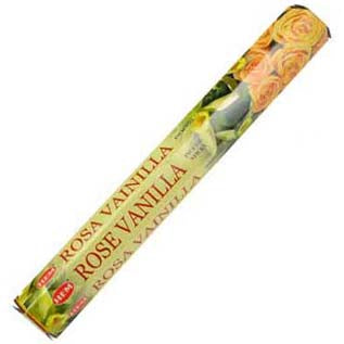 HEM Rose Vanilla Incense Sticks - 20 pack (20g)