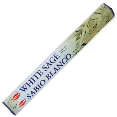 HEM White Sage Incense Sticks - 20 pack (20g)