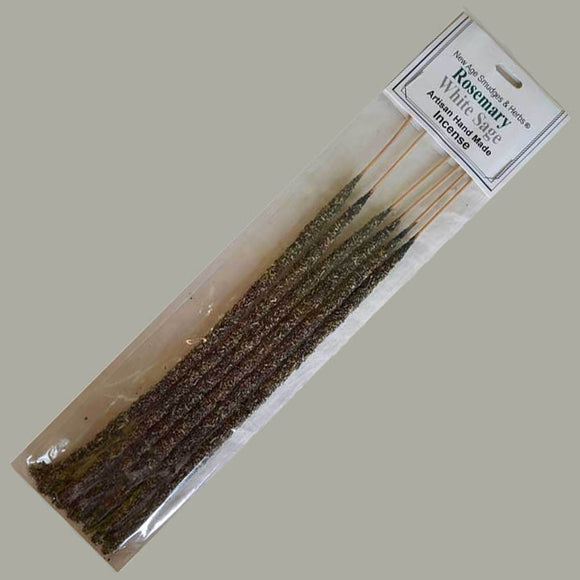 Rosemary & White Sage Incense Sticks - 6 pack