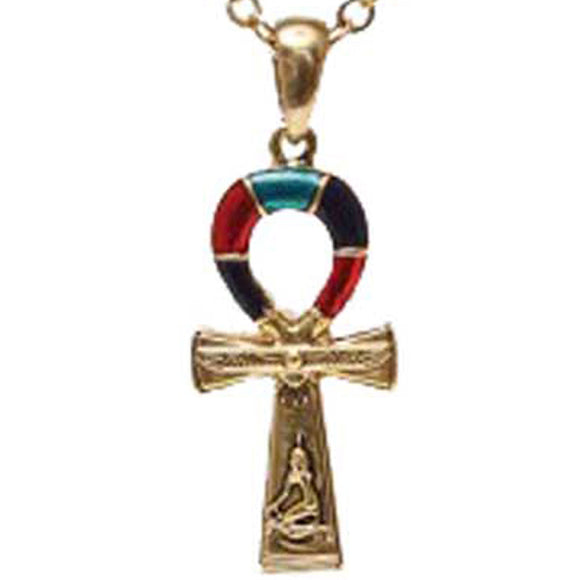 Egyptian Isis Ankh Pendant (has chain)