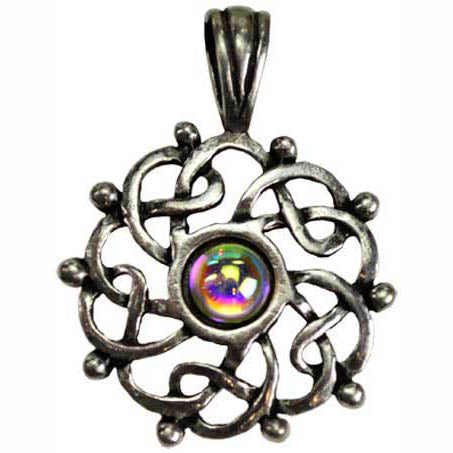 Celtic Completion Pewter Pendant (has cord)