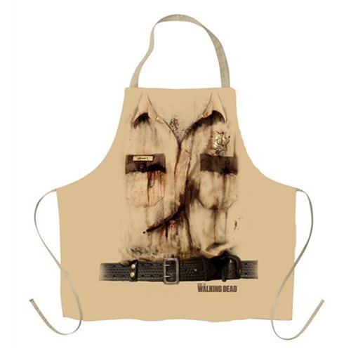 The Walking Dead Sheriff Rick Grimes Shirt Apron - Official Just Funky :: Mental XS Online