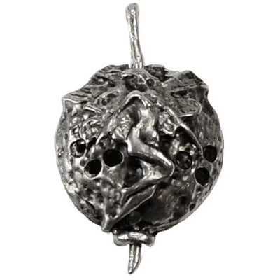 Faerie Scent Locket Pewter Pendant (has cord)