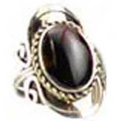 Gemstone Adjustable Ring ½