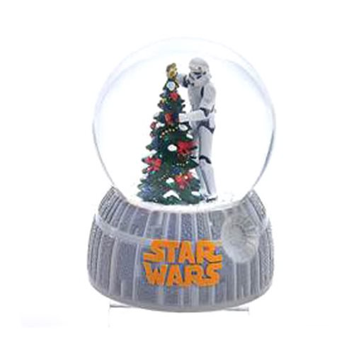 Star Wars Musical Stormtrooper and Tree 4-Inch Water Globe :: Mental XS Online