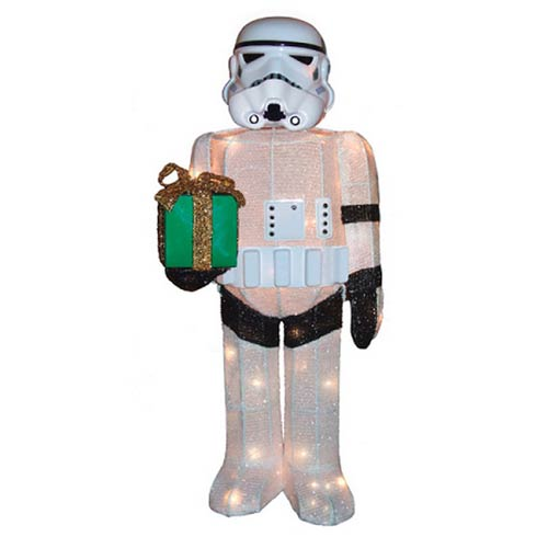 Star Wars Stormtrooper Lighted 28-Inch Tinsel Display :: Mental XS Online