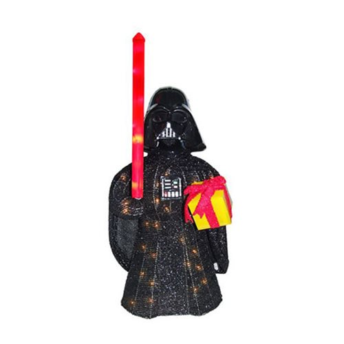 Star Wars Darth Vader Lighted 28-Inch Tinsel Display :: Mental XS Online