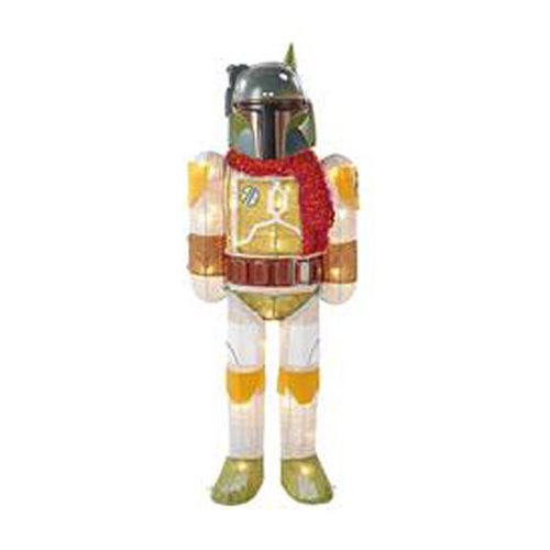 Star Wars Boba Fett w/ Scarf 28-Inch Light-Up Tinsel Display :: Mental XS Online