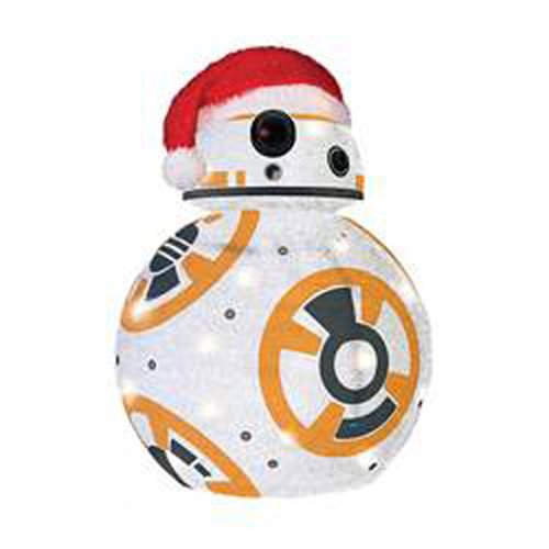 Star Wars: TFA BB-8 28-Inch Light-Up Tinsel Display :: Mental XS Online