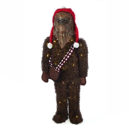 Star Wars Chewbacca 36-Inch LED Tinsel Display :: Mental XS Online