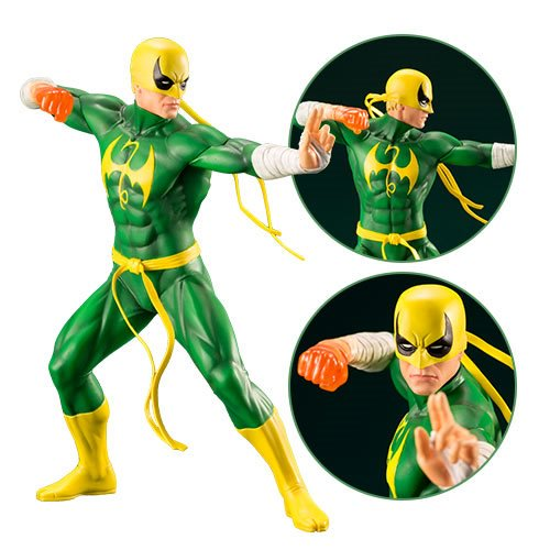 Marvel Defenders Iron Fist ARTFX+ Statue - Official Kotobukiya :: Mental XS Online
