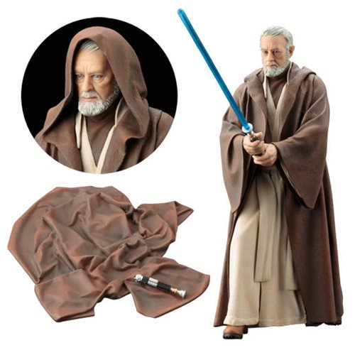 Star Wars: A New Hope Obi-Wan Kenobi ArtFX+ Statue :: Mental XS Online