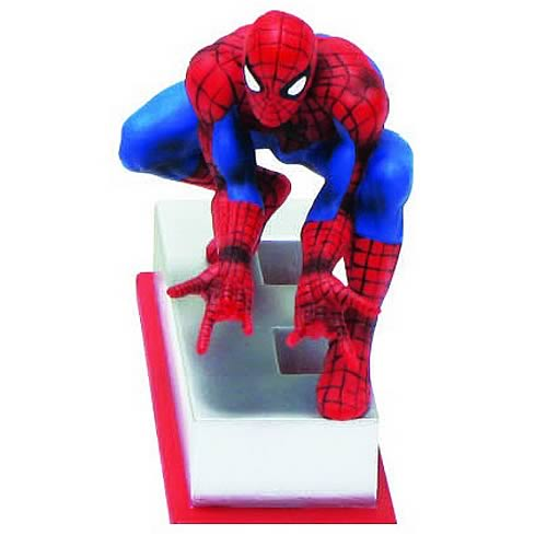 Marvel Edition Spider-Man Letter E Statue - Official Monogram :: Mental XS Online