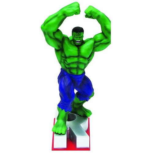 Marvel Edition Hulk Letter R Statue - Official Monogram :: Mental XS Online