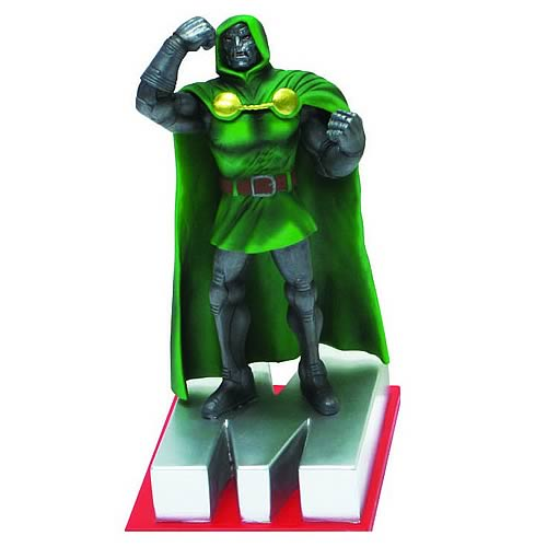 Marvel Edition Dr. Doom Letter M Statue - Official Monogram :: Mental XS Online