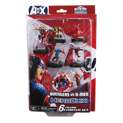 Avengers vs. X-Men Marvel HeroClix Avengers Starter Pack - Official Neca :: Mental XS Online
