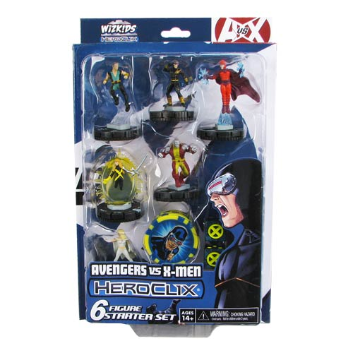 Avengers vs. X-Men Marvel HeroClix X-Men Starter Pack - Official Neca :: Mental XS Online