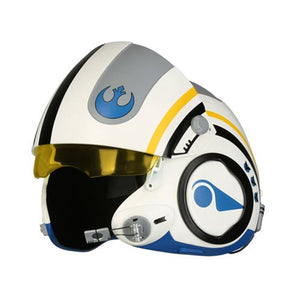 Star Wars Episode VII: The Force Awakens Poe Dameron Blue Squadron Helmet Prop Replica - Official Anovos :: Mental XS Online