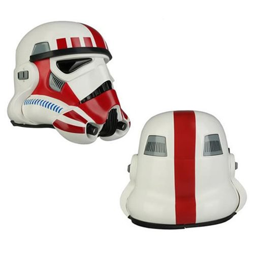 Star Wars Stormtrooper TK Shock Trooper Red Variant Helmet Prop Replica - Official Anovos Limited Edition :: Mental XS Online