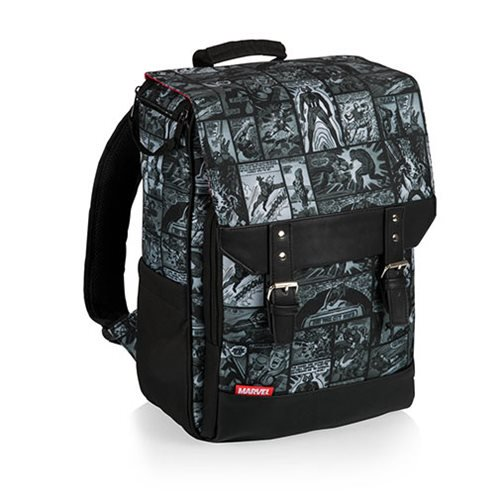 Marvel Comic Book Art Lunch Cooler Backpack - Official Picnic Time :: Mental XS Online