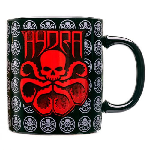 Marvel Comics Agents of SHIELD Hydra Red Logo Mug - Official New Era Cap Company :: Mental XS Online