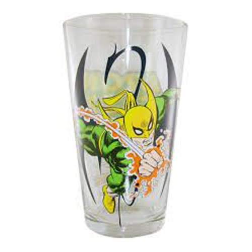 Marvel Iron Fist Toon Tumbler Pint Glass - Official Popfun Merchandising :: Mental XS Online