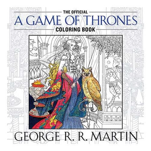 The Official A Game of Thrones Coloring Book - Official Penguin Random House :: Mental XS Online