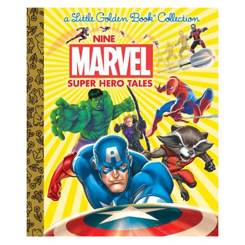 Marvel Nine Marvel Super Hero Tales Little Golden Book - Official Penguin Random House :: Mental XS Online