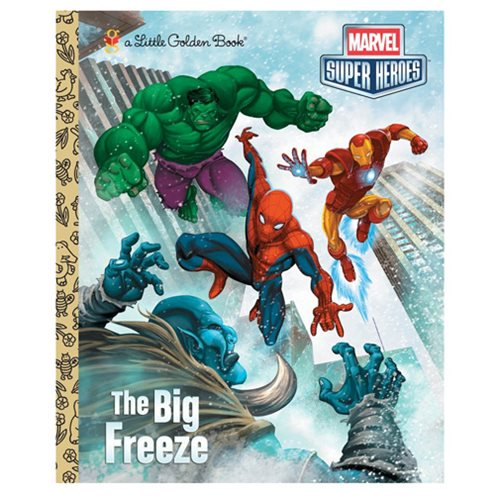 Marvel The Big Freeze Little Golden Book - Official Penguin Random House :: Mental XS Online