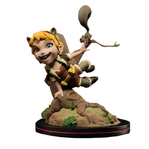 Squirrel Girl Diorama Q-Fig - Official Quantum Mechanix :: Mental XS Online