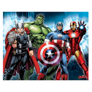 Avengers Group Lineup Canvas Print by Artissimo Design - Official Artissimo :: Mental XS Online