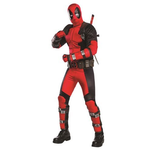 Deadpool Grand Heritage Costume :: Mental XS Online