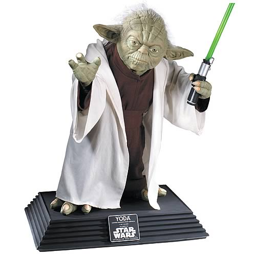 Star Wars Supreme Edition Yoda Replica Life-Size Statue :: Mental XS Online