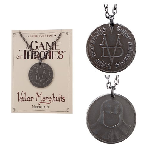 Game of Thrones Valar Morghulis Necklace - Official Shire Post Mint :: Mental XS Online