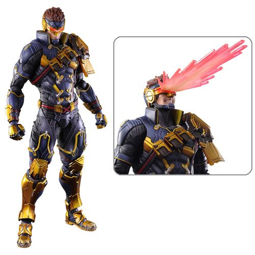 Marvel Universe Cyclops Variant Play Arts Kai Action Figure 10¾