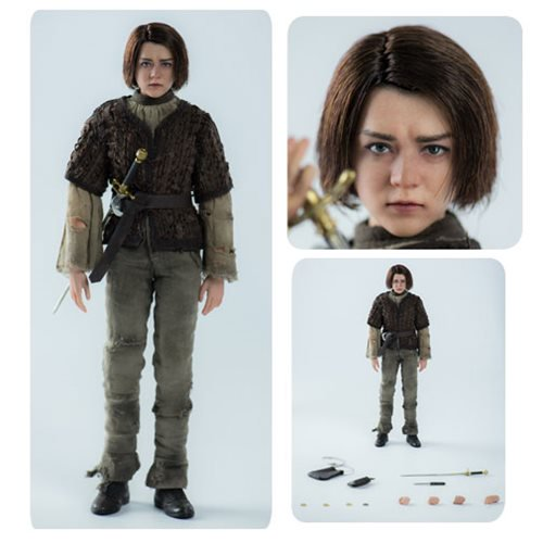 Game of Thrones Arya Stark 1:6 Scale Action Figure - Official Threezero :: Mental XS Online